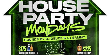 House Party Mondays -- Free Hookah Mondays @ Cru Lounge Dallas tickets