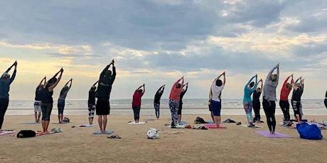 Beach Yoga at Bridlington South Cliff Beach: 08:00am - 09:00am tickets