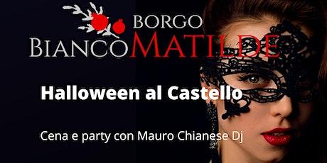 Halloween al Castello di Sarzano biglietti