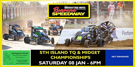 Saturday 08 Jan 2022 - South Island TQs and  South Island Midgets Champs tickets