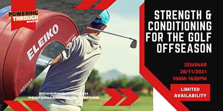 Strength & Conditioning For The Golf Offseason tickets