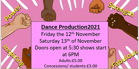 Chis and Sid Dance Production 2021 tickets