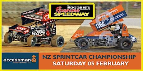 Saturday 05 Feb 2022 - Accessman N.Z Sprintcar Championships night 1 of 2 tickets