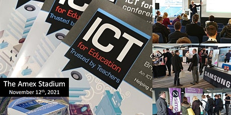 ICT for Education, Brighton 2021 Conference tickets