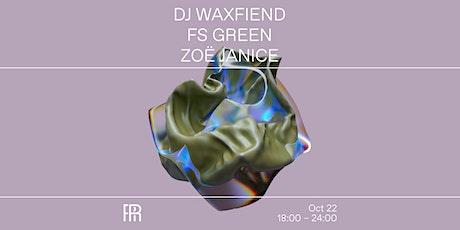 DJ WaxFiend, FS Green & Zoë Janice - Radio Radio tickets