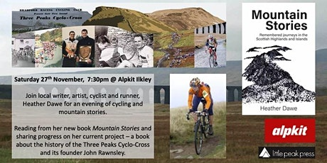 An evening of cycling and mountain stories - Heather Dawe tickets
