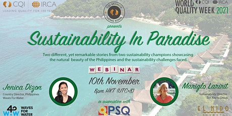 CQI Hong Kong - Sustainability In Paradise tickets