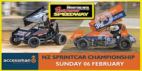 Sunday 06 Feb 2022 - Accessman N.Z Sprintcar Championships night 2 of 2 tickets