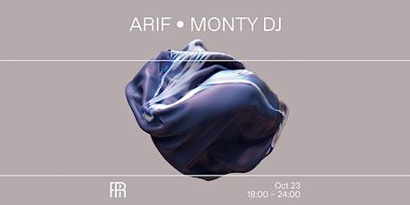 Arif & Monty DJ - Radio Radio tickets