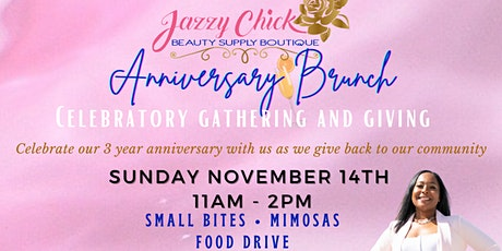 3rd Anniversary Brunch and Food Drive tickets