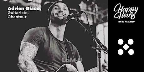 Adrien Giaco, Guitariste Chanteur billets