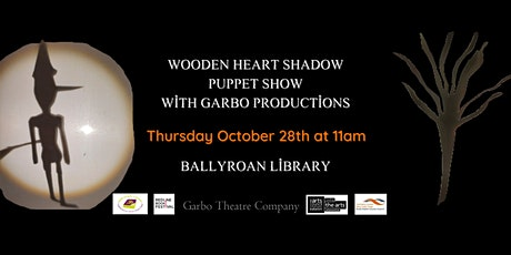 Wooden Heart Shadow Puppet Show with Garbo Productions tickets