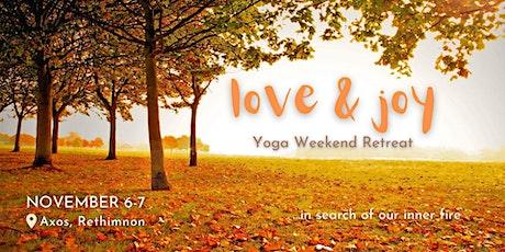 Weekend Yoga & Ecstatic Movement Retreat in Rethymno – 6 & 7 November 2021 tickets