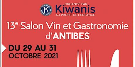 13ème Salon du Vin et de la Gastronomie d'Antibes tickets
