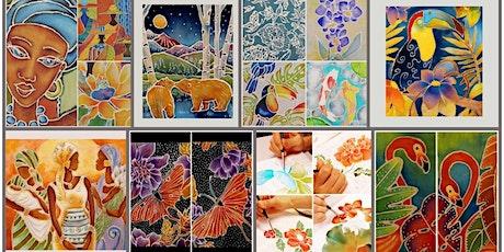 Batik Painting Course starts Dec 4 (8 sessions) tickets