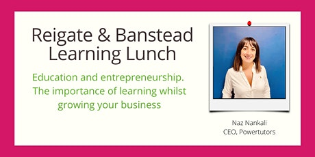 December Learning Lunch - education and entrepreneurship. tickets