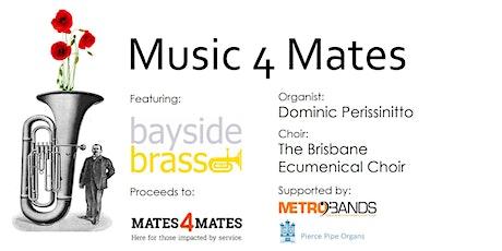 Music 4 Mates: Brass Band, Organ, Choir Concert tickets