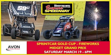 Saturday 02 April 2022 - Daltons Sprintcar Summer Slam | V6 Wingless Sprint tickets