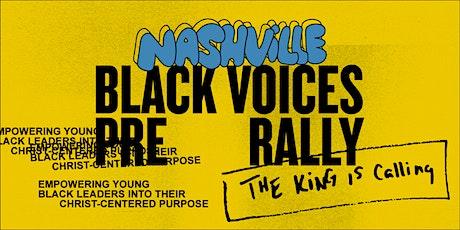 Black Voices: Nashville Pre-Rally tickets
