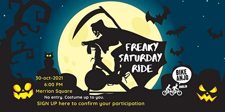 Freaky Saturday Ride with Bike Anjo in Dublin tickets