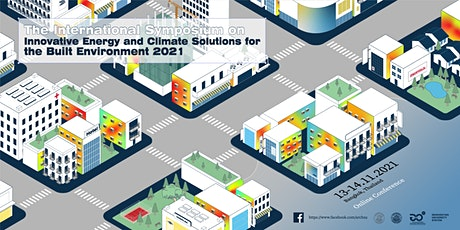 Innovative Energy and Climate Solutions for the Built Environment 2021 tickets