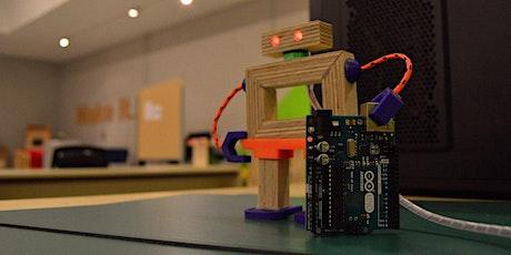 Viernes 5 noviembre >Arduino básico para comenzar tus proyectos de robótica entradas