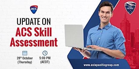 Webinar on ACS Skills Assessment Program Updates tickets