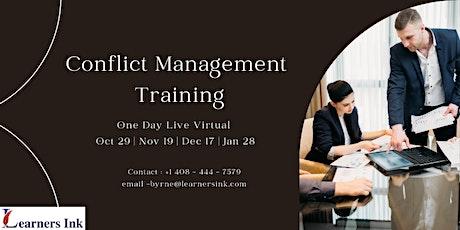 Conflict Management Training - Escondido, CA boletos