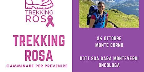 Quarto trekking rosa - Monte Corno tickets
