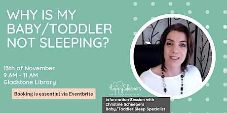 Why is my baby/toddler not sleeping? tickets