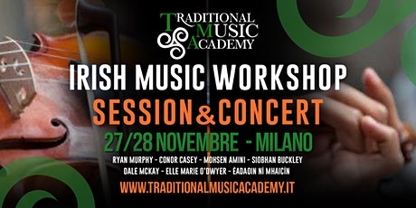 Musica Irlandese - Workshop/Session/Show biglietti