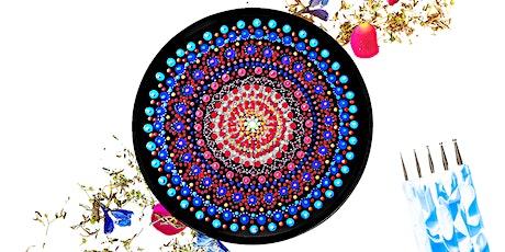 Vinyl Mandala Painting Workshop tickets