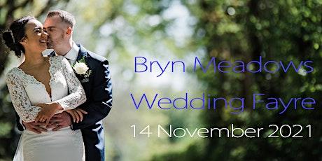 Bryn Meadows Hotel Wedding Fayre – Sunday 14 November 2021 -  1pm tickets tickets