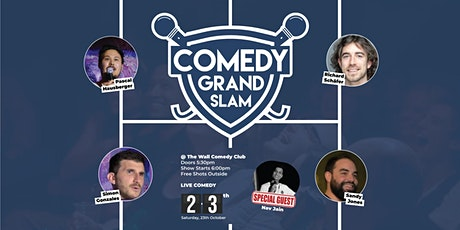 FREE ENGLISH STANDUP COMEDY - Grand Slam Comedy Tickets