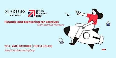 Startups Magazine & British Business Bank: Finance & Mentoring for Startups tickets