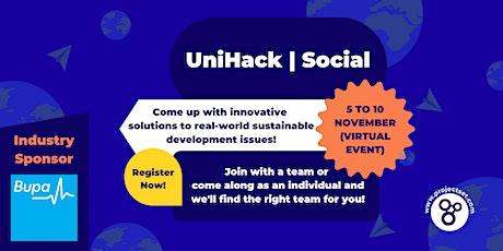 UniHack Social tickets