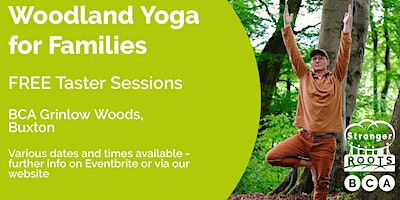 Woodland Yoga for families