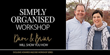 """Howards Mile End  """"Simply Organise Your Laundry, Linen & Bathroom"""" Workshop tickets"""