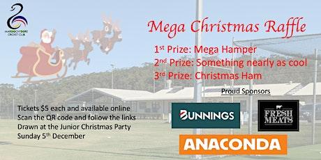 Maroochydore Cricket 202`1 Christmas Raffle tickets