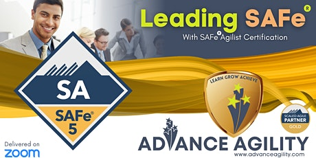 Leading SAFe (Online/Zoom) Dec 04-05, Sat-Sun, Sydney 9am-5pm , AET tickets