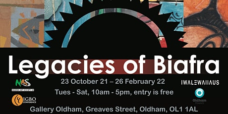 Virtual Launch Event: Legacies of Biafra @ Gallery Oldham tickets
