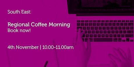 SE041121 South East: Regional Coffee Morning tickets