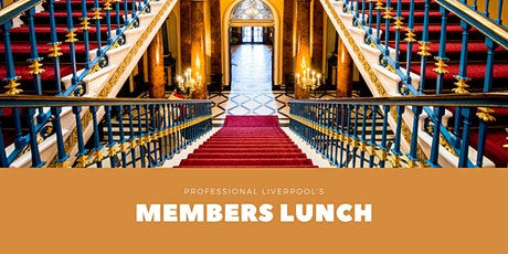 Professional Liverpool Members Lunch 2021 tickets