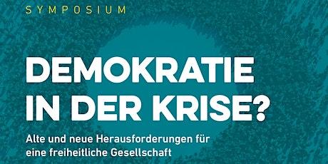 Symposium: Demokratie in der Krise? Tickets