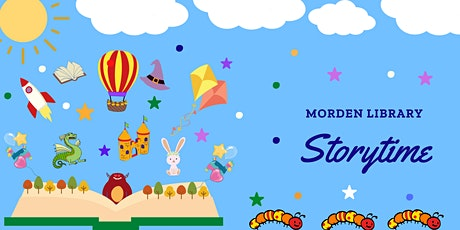 Morden Library - Storytime  with Michela (0-5years) tickets