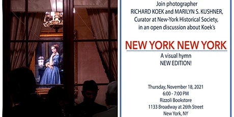 NEW YORK NEW YORK (NEW EDITION) BY RICHARD KOEK IN - PERSON EVENT tickets