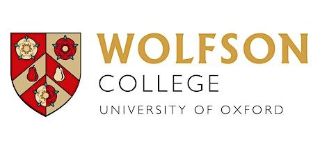 Wolfson College Berlin Lecture, Michaelmas term 2021 tickets