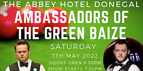 Shaun Murphy & Mark Allen  Ambassadors of  the Green Baize tickets