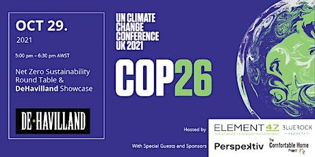 Net Zero Sustainability Round Table & DeHavilland Showcase tickets