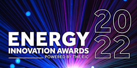 Energy Innovation Awards 2022 tickets